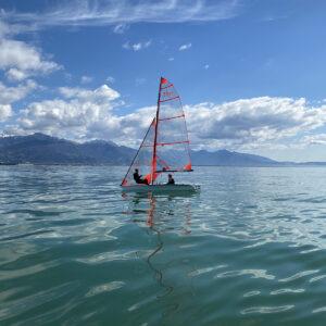 Foto corso di vela agonisti della barca 29er in Versilia
