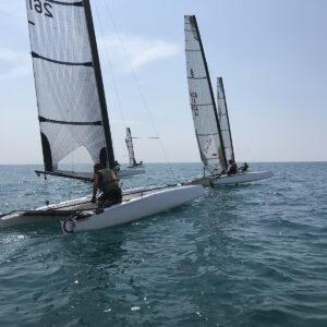 Foto Catamarani Classe A Porto Spiaggia Versilia