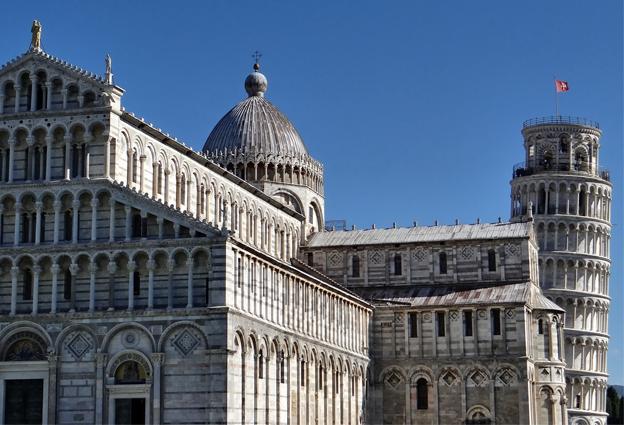 Pisa vicina alla Scuola Vela
