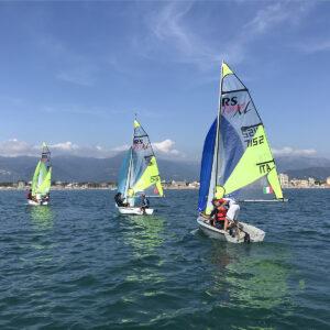 Foto barche RS FEVA in Versilia