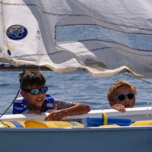 Foto bambini Scuola Vela FIV